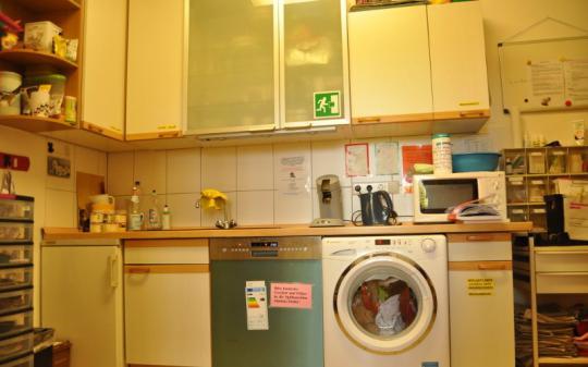 In der Küche der Katzenhilfe Neuwied e.V.