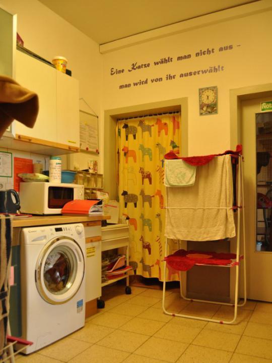 Die Waschmaschine steht keinen Tag still!